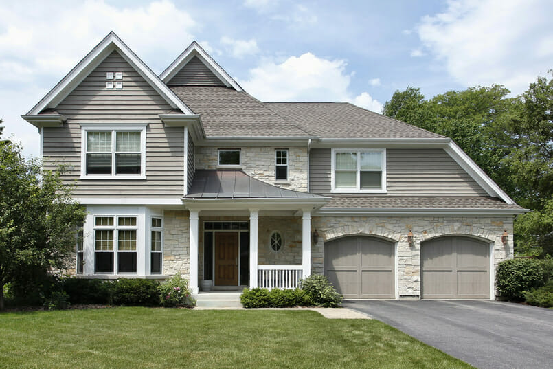 Residential house image